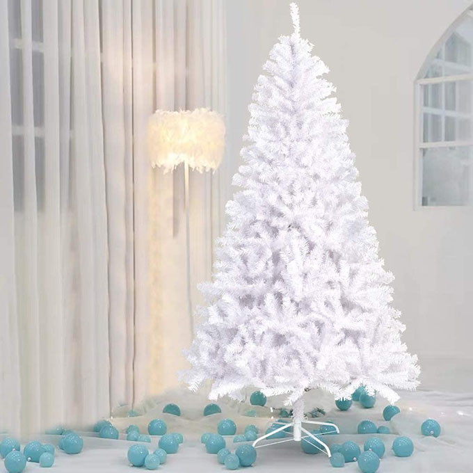 best white christmas tree collection
